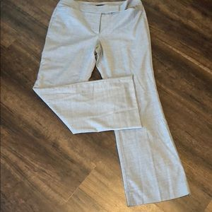 Light Grey Dress Pants with Liner